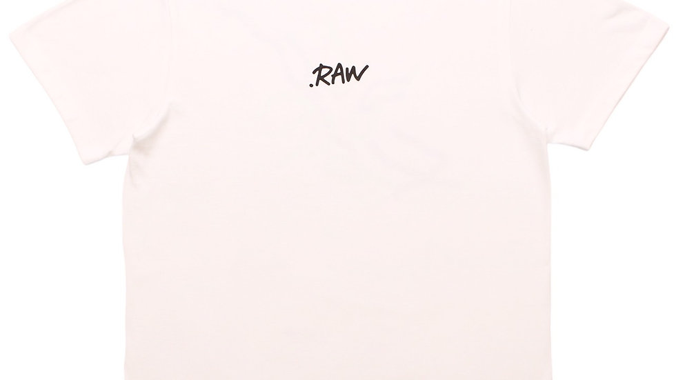 .RAW STANDARD TEE (WHITE)