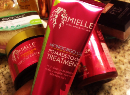 Review: Mielle Organics Pomade-To-Oil W/ Mongongo Oil