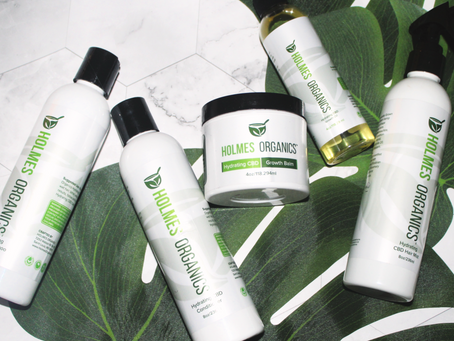 Review: Holmes Organics CBD Hair Care Line