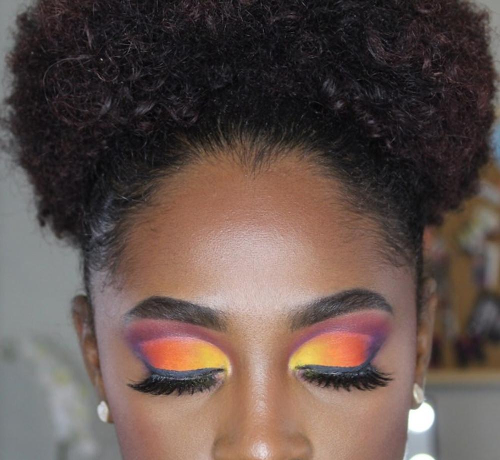 James Charles Palette Makeup Look