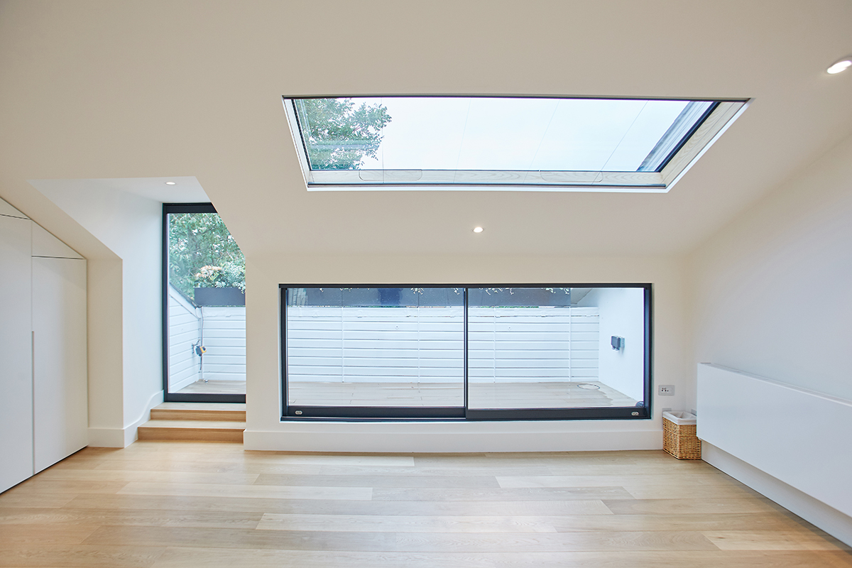 bespoke rooflight home