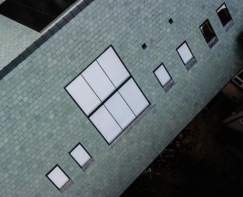 Large linked rooflights
