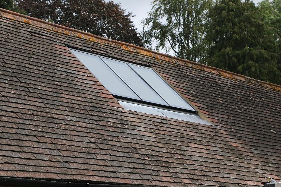 Metal conservation rooflight