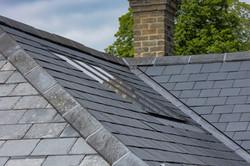 flush conservation rooflight Lumley
