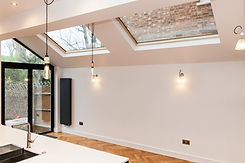 Skylight for kitchen extension