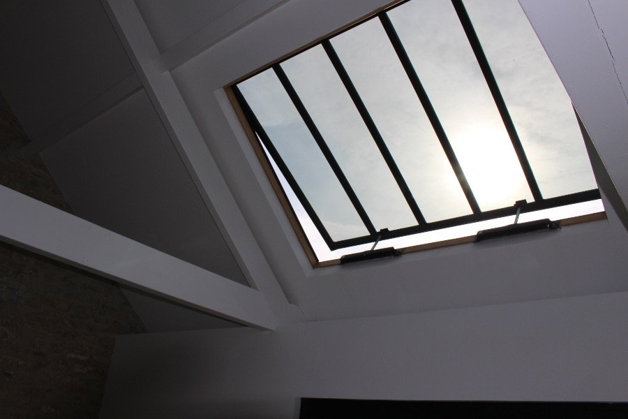 electric opening conservation rooflight