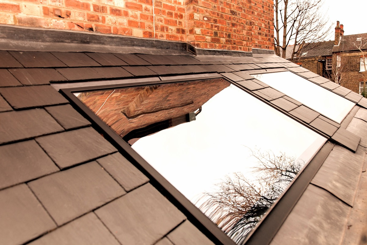 flush fitting kitchen rooflight