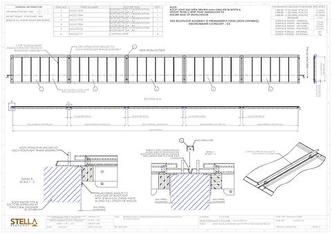 Rooflight drawings