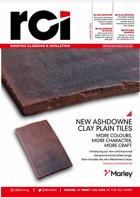 Roofing Clad Insulation Mag Jan 20 Cover