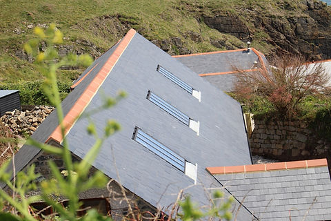 Non rust metal skylight