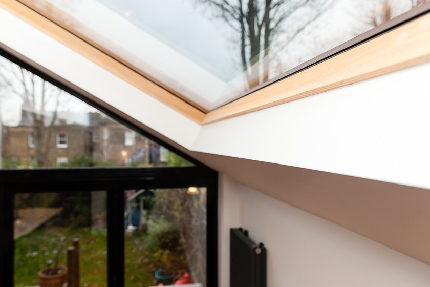 solid wood liner skylight