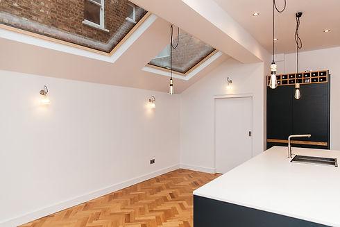 kitchen design skylight