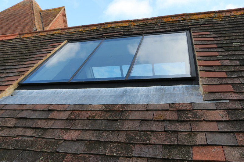 Triple glazed skylight
