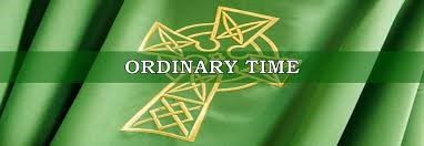 Back to Ordinary Time