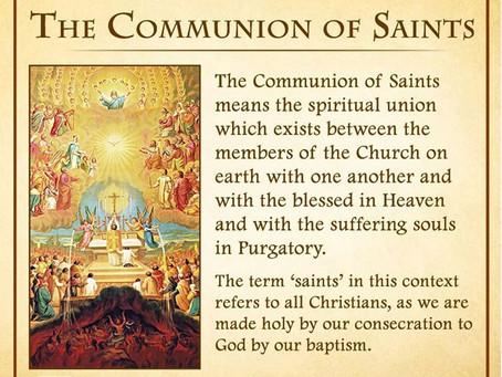 November 1, 2020 - Solemnity of All Saints