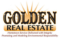 Golden Real Estate logo with value state