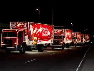 Caravana de Natal Coca-Cola começa 29 de novembro