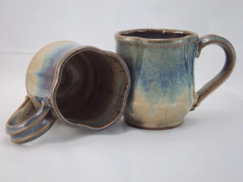 Mug ( clover ) Blue Ridge Blue