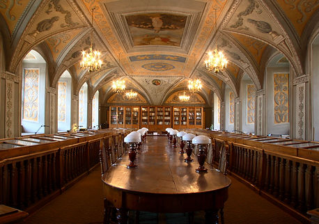 Vilnius University Library, antiquity art and science