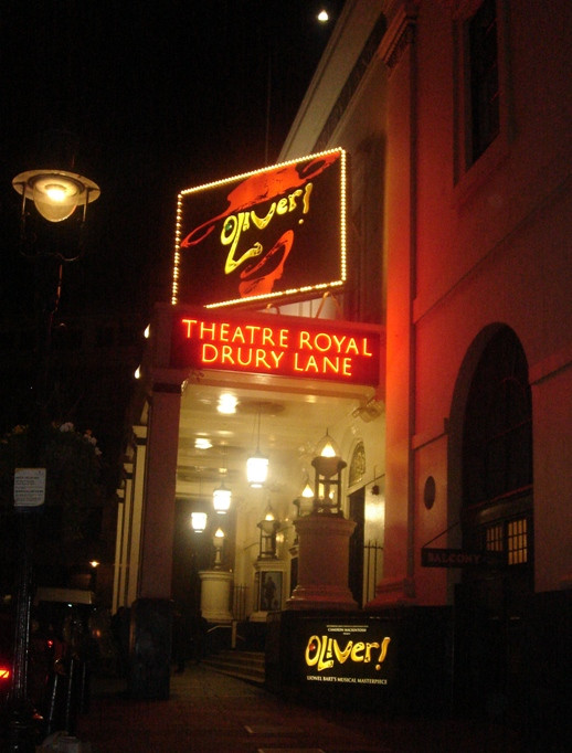 Theatre Royal, Drury Lane. Opened in May