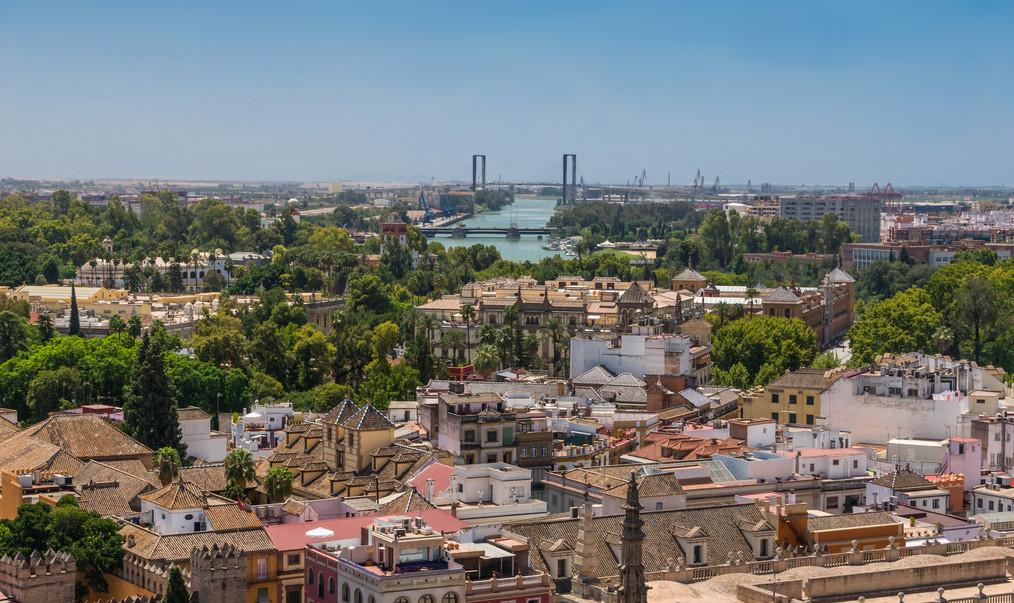 Toits_Guadalquivir_ponts_Séville_Espagne