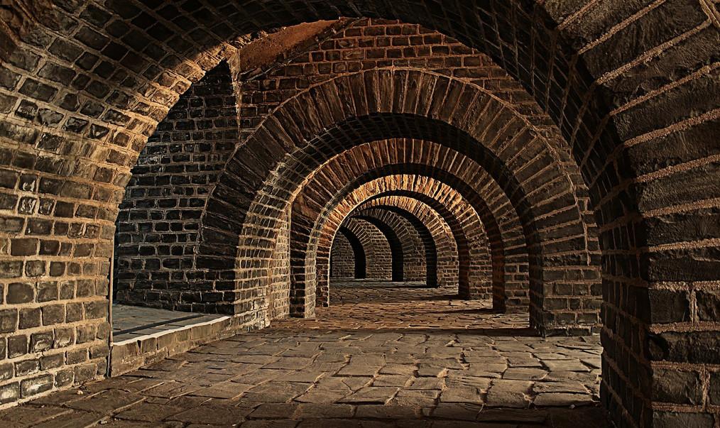 Vaulted Roman Cellar