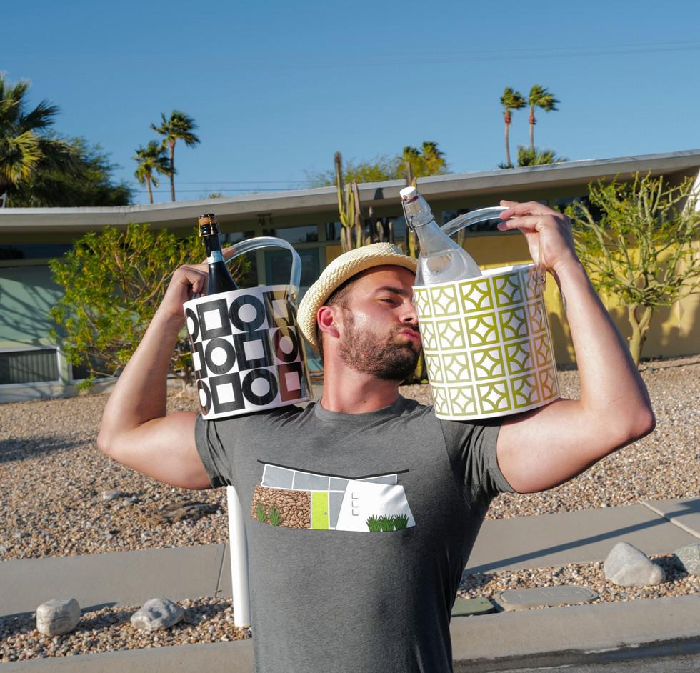 Modernista and Sunmor ice buckets