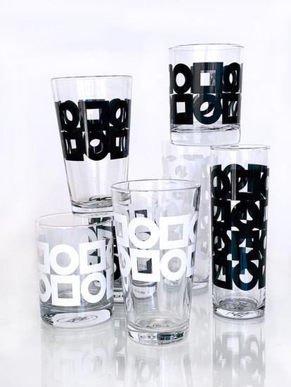 Modernista glassware