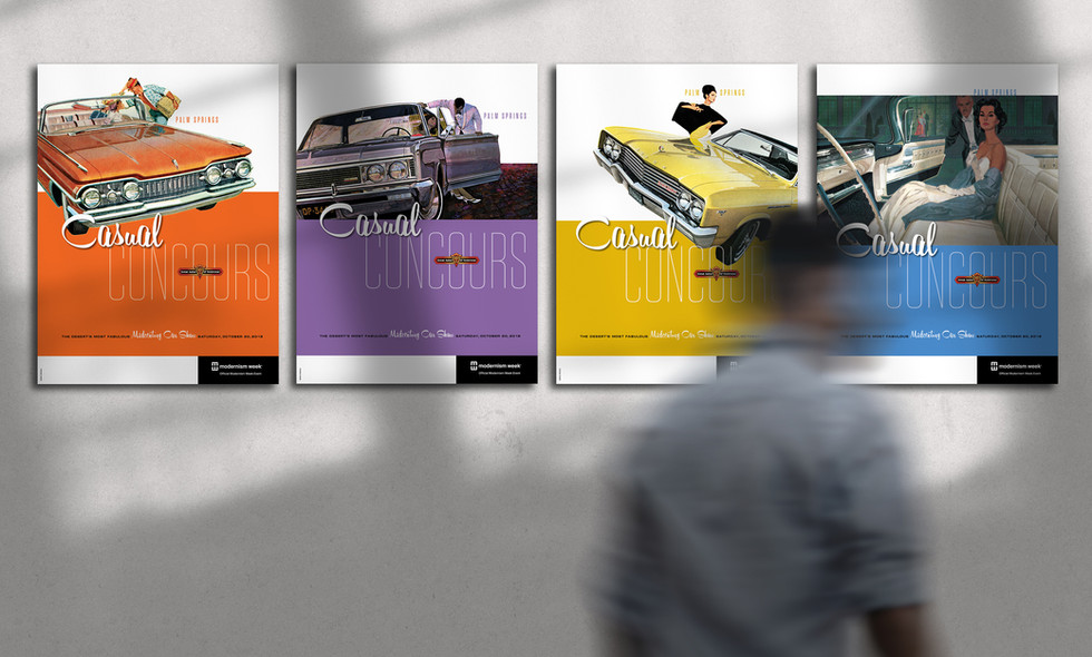 Casual Concours 2018 posters