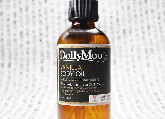 DollyMoo Vanilla Body Oil