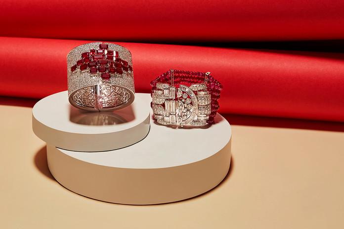 Art Deco Cuff and Bracelet
