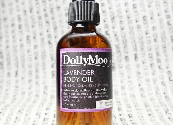 DollyMoo Lavender Body Oil