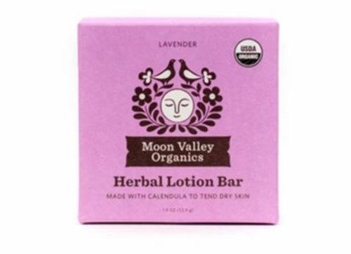 Lavender Herbal Lotion Bar