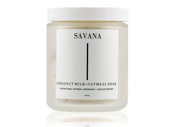Savana Coconut Milk & Oat Bath Soak