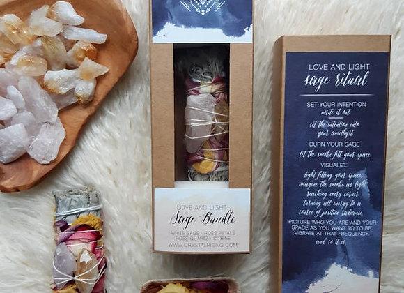 Love & Light Sage Bundle Ritual