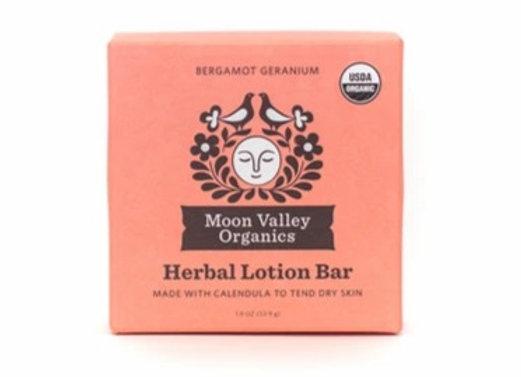 Bergamot Geranium Herbal Lotion Bar