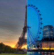 paris london, eurostar, social content