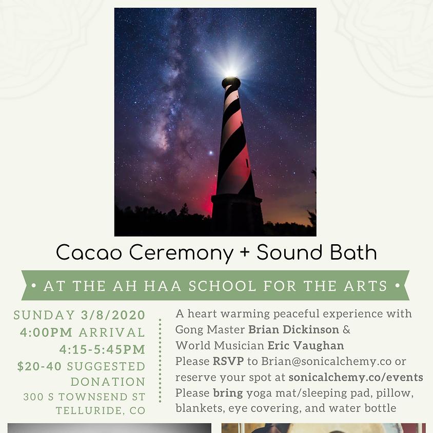Cacao Ceremony and Sound Bath