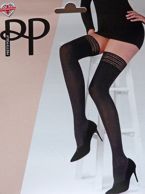 Pretty Polly 40 Denier Opaque Hold Ups One Size