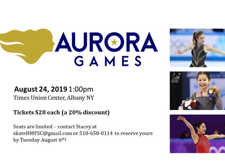 Order your Aurora Games Tix today!