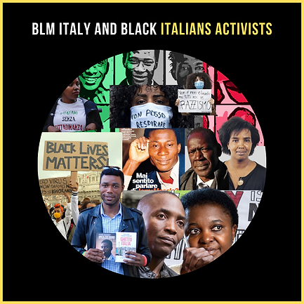 BLM Italy Cecile Kyenge