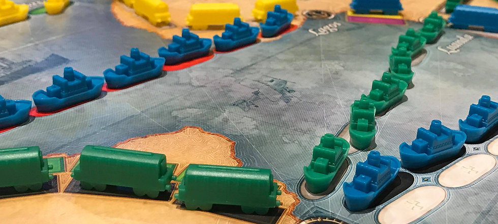 ticket to ride : rails and sails