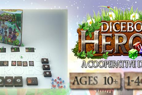 Diceborn Heroes: A Co-op Dice Adventure Game