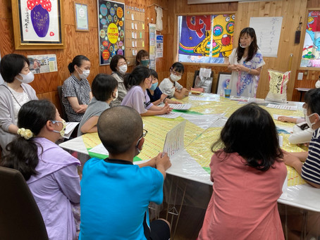 親子体験講座「カラーの持つ力」講師:天の川智子先生