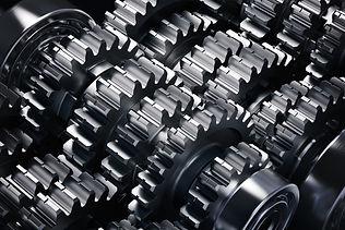 Metal gears group complex industrial mec
