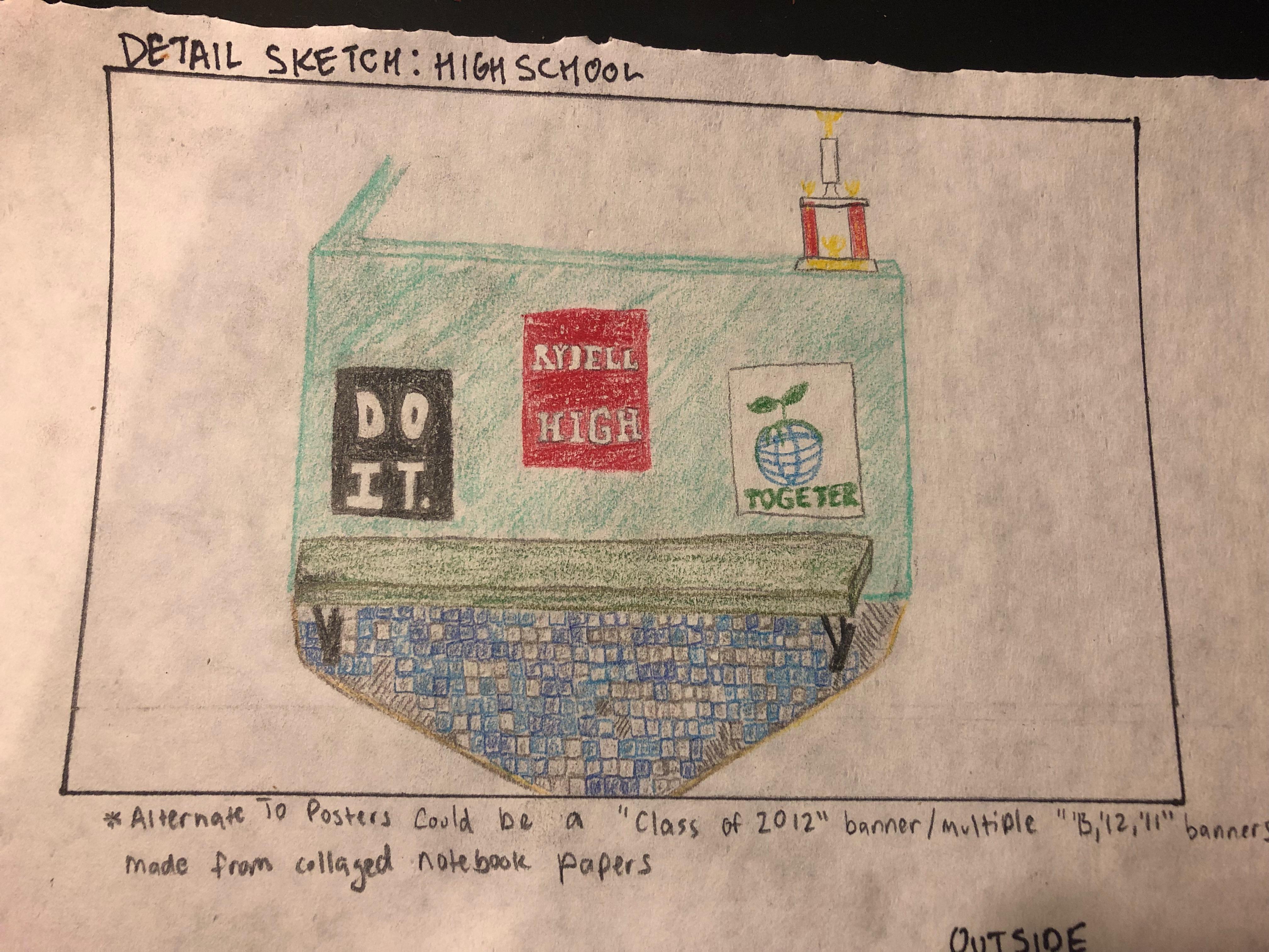 "Sketch of ""High School"""