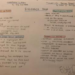 Homebody/Kabul Concept Notes