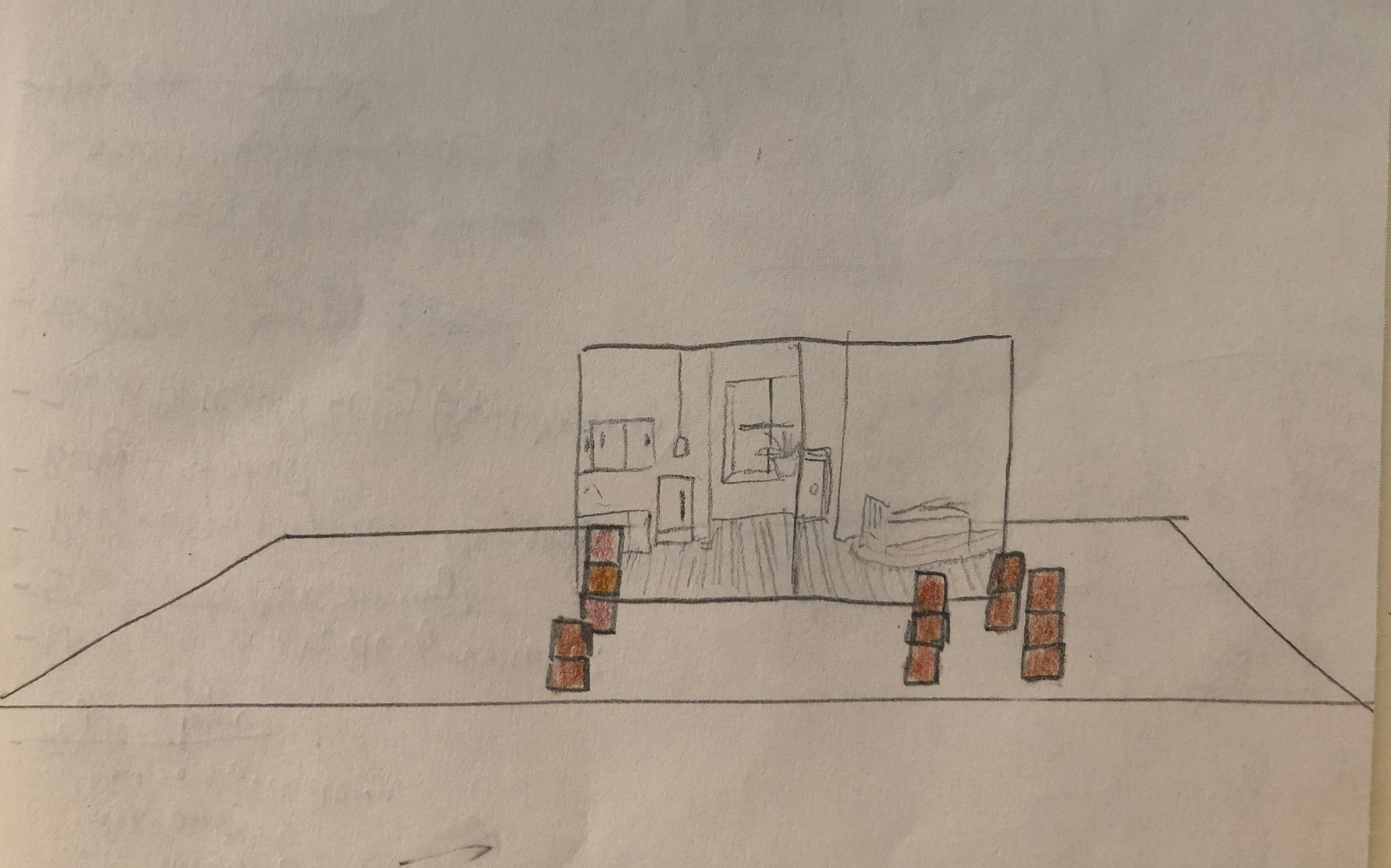 Sketch of the Two Walls