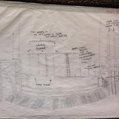 Details of Set for Twelfth Night Concept