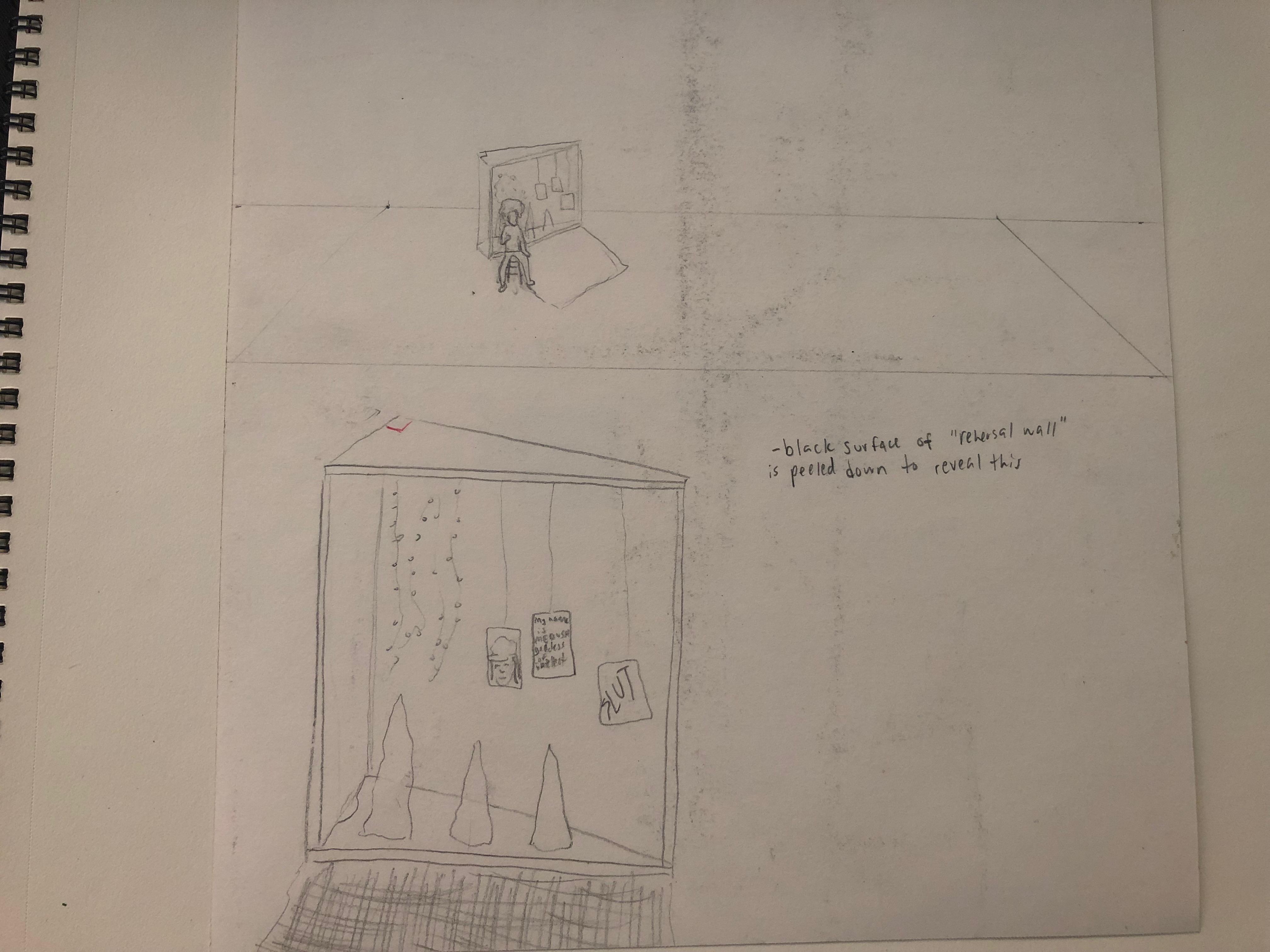 Medusa's Cave Concept Sketch